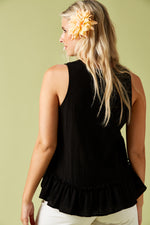 THE SAILS TANK IN BLACK