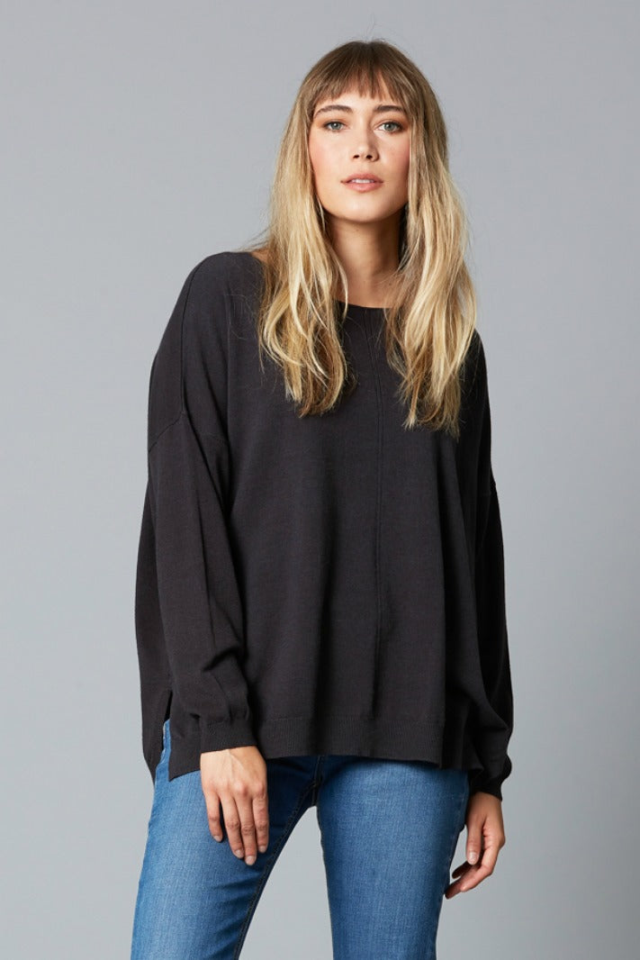 THRIVE KNIT IN BLACK