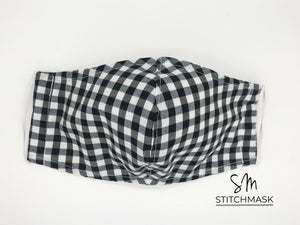 Standard Cloth Mask (Double Layers/No Pocket Filter/No Nose Wire)