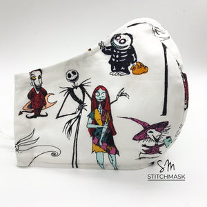 Nightmare Before Christmas (White)