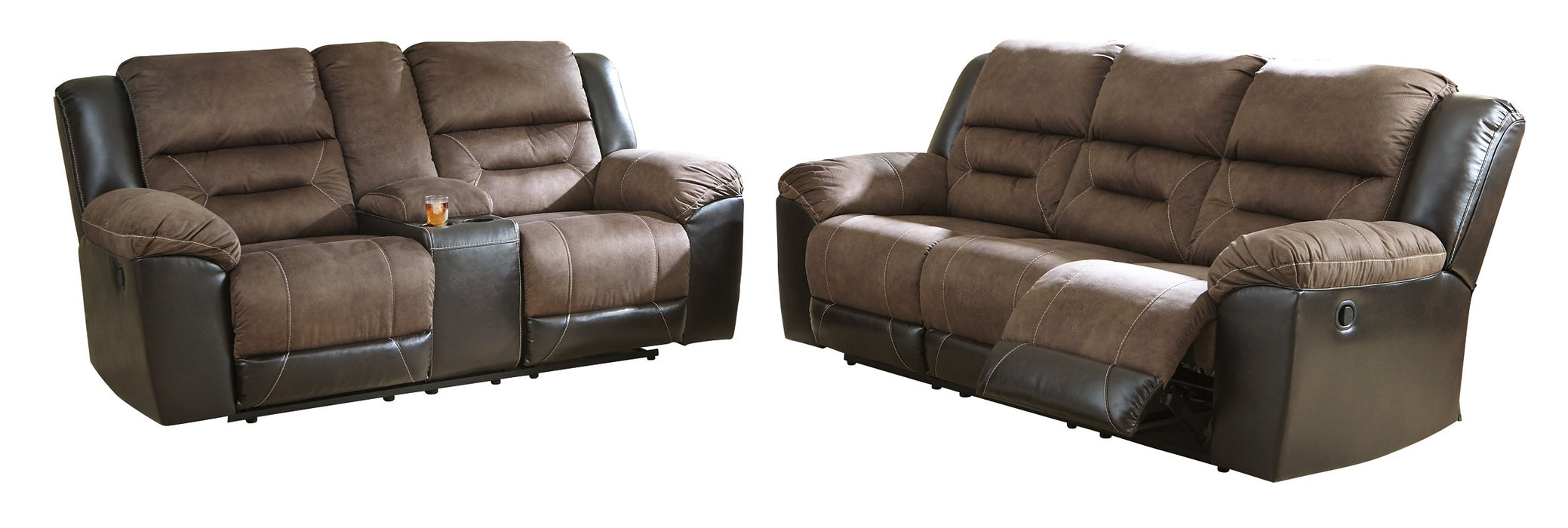 Earhart Signature Design Contemporary 2-Piece Living Room Set