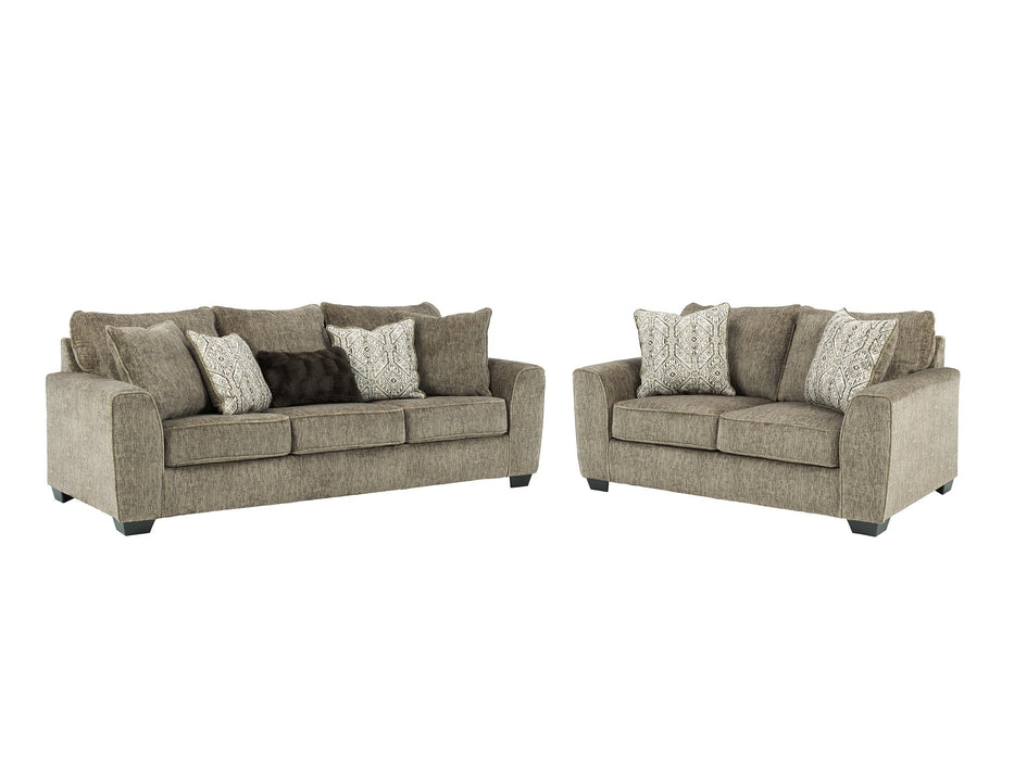 Olin Benchcraft 2-Piece Living Room Set