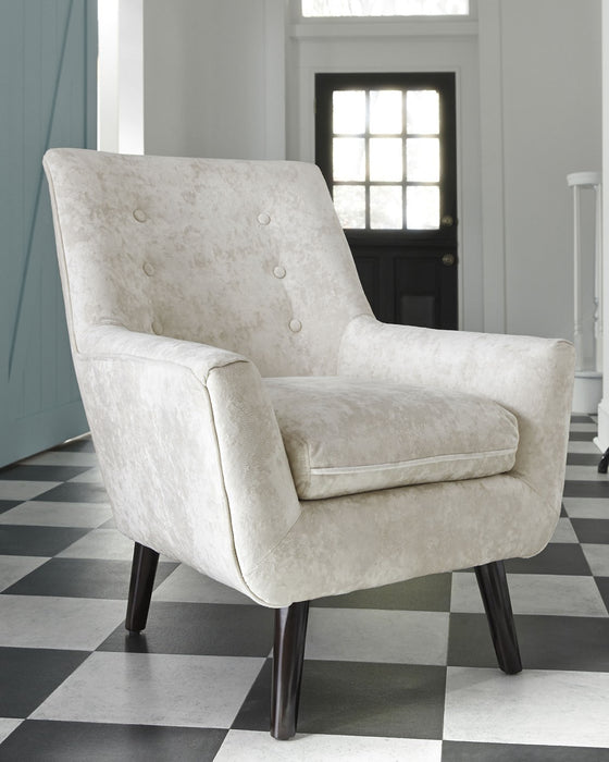 Zossen Signature Design by Ashley Ivory Accent Chair