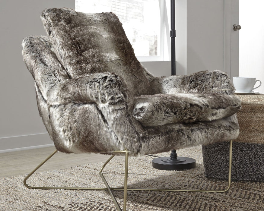 Wildau Signature Design by Ashley Gray Accent Chair