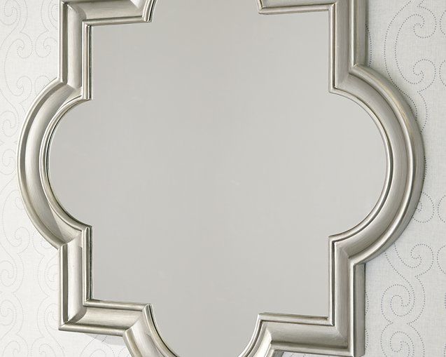 Desma Signature Design by Ashley Champagne Accent Mirror
