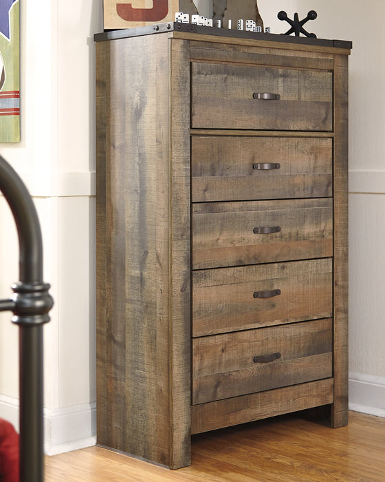 Trinell Signature Design by Ashley Brown Chest of Drawers