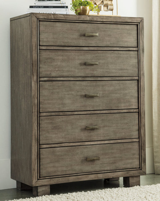 Arnett Signature Design by Ashley Gray Chest of Drawers