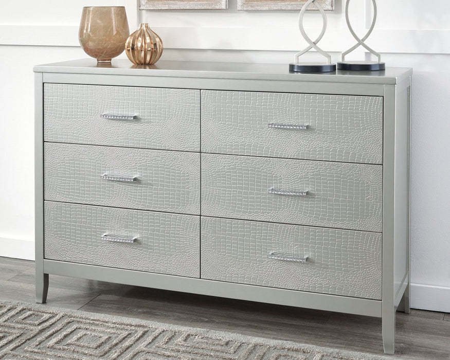 Olivet Signature Design by Ashley Silver Dresser