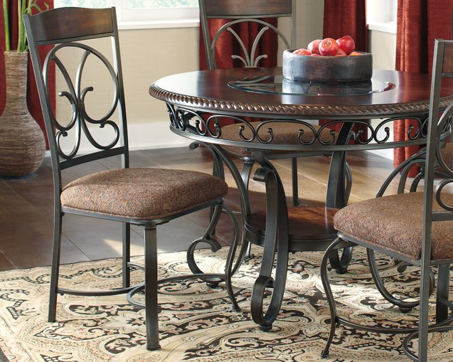 Glambrey Signature Design by Ashley Brown Dining Chair