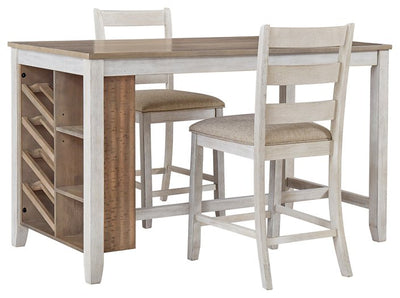 Skempton Signature Design 2-Piece Counter Height Dining Room Package