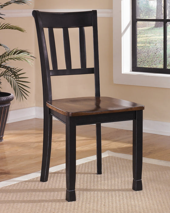Owingsville Signature Design by Ashley Dining Chair Set of 2