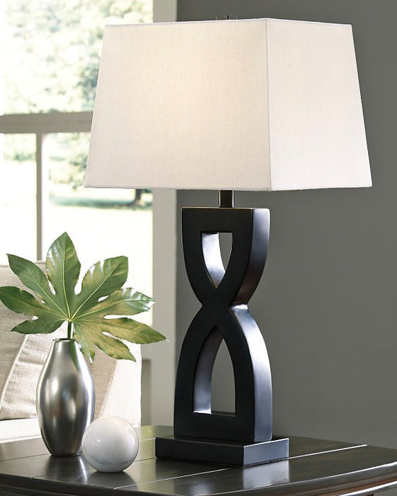 Amasai Signature Design by Ashley Table Lamp Set of 2