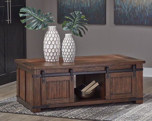 Budmore Signature Design by Ashley Brown Coffee Table