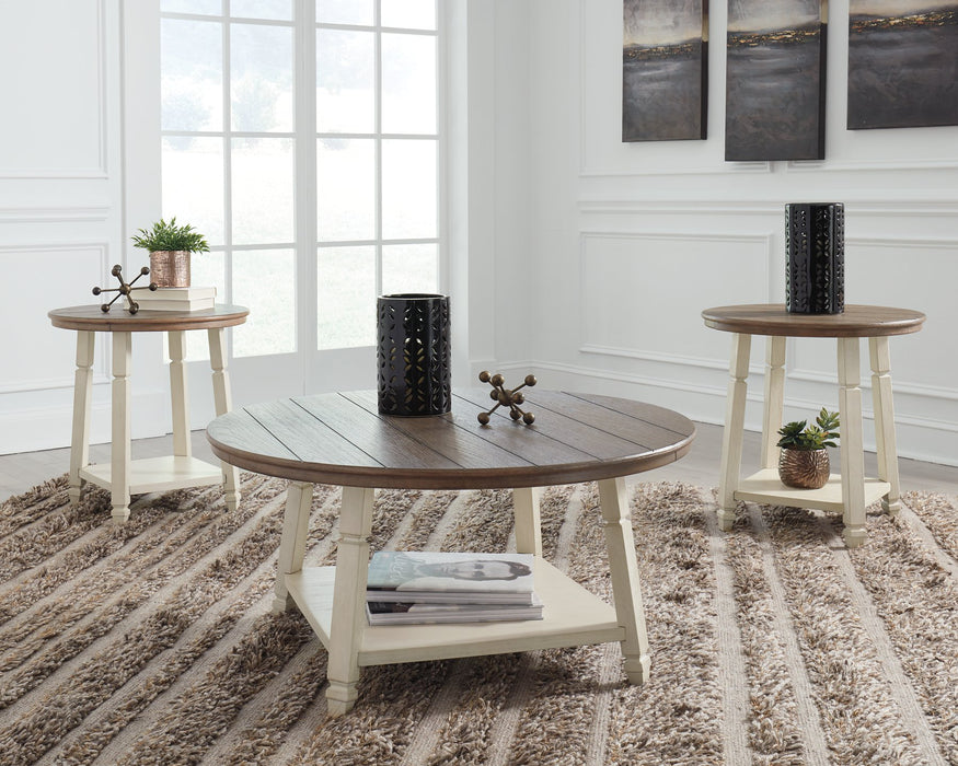 Bolanbrook Signature Design by Ashley Two-tone Table Set of 3