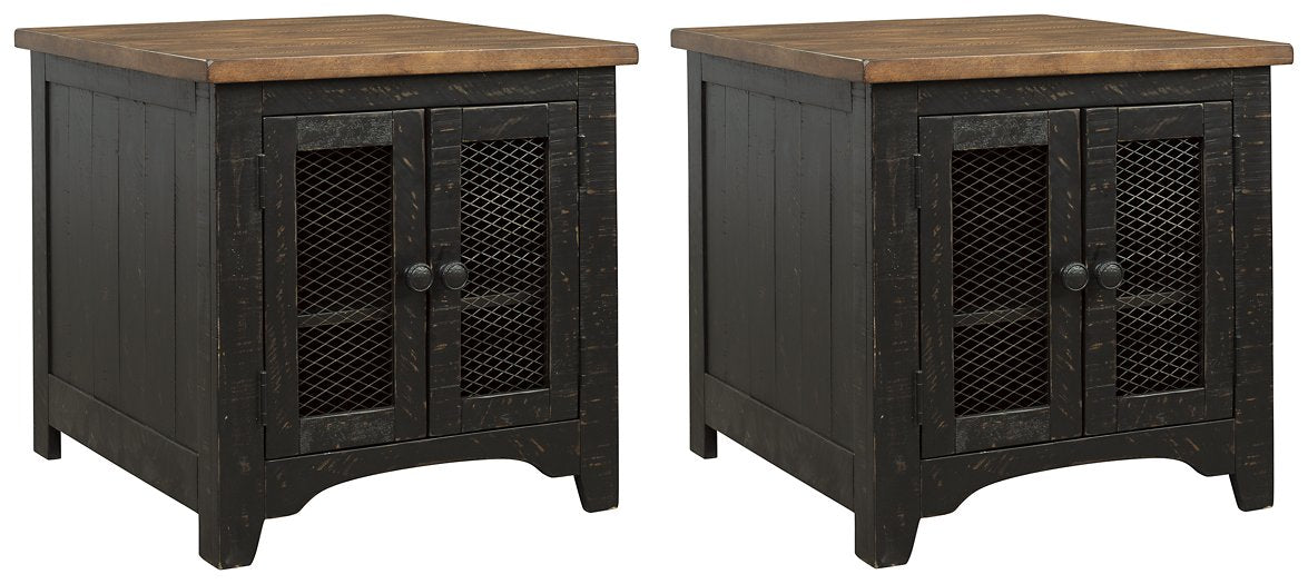 Valebeck Signature Design 2-Piece End Table Set