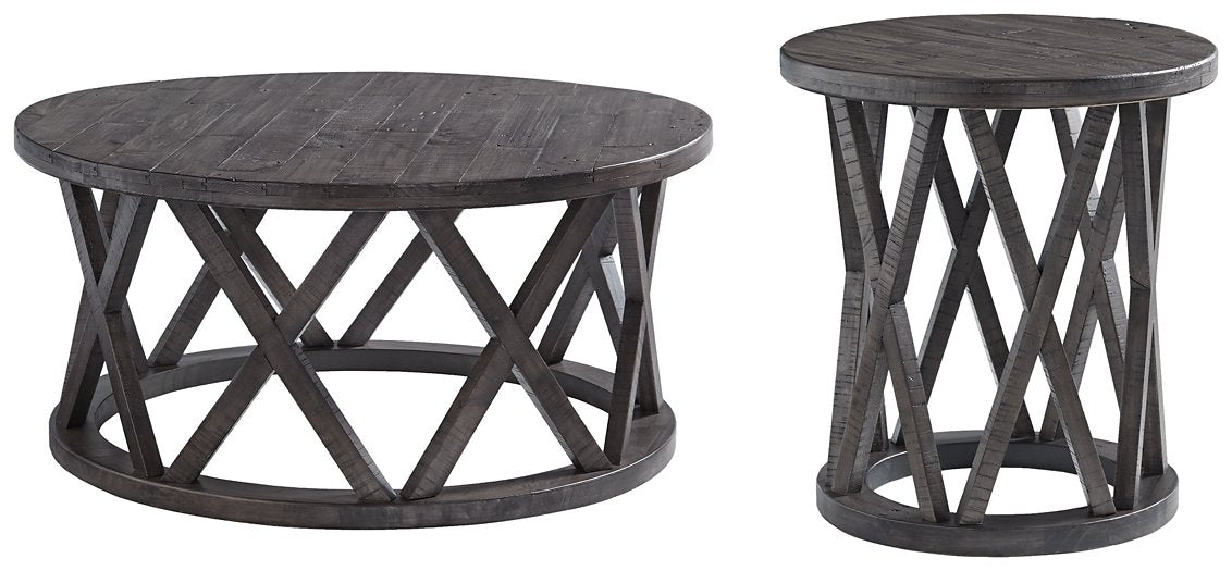 Sharzane Signature Design 2-Piece Table Set