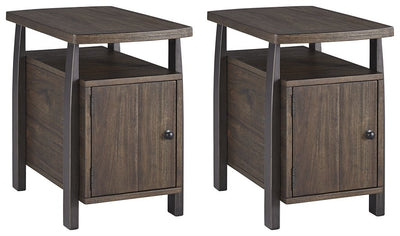 Vailbry 2-Piece End Table Set