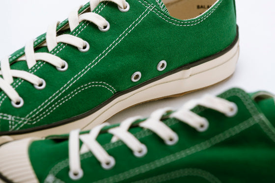 PRAS-04-003 / COLOR LOW - KELLY GREEN