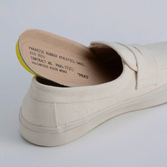 PRAS-UP02 / PENNY SLIP-ON - KINARI x OFF WHITE