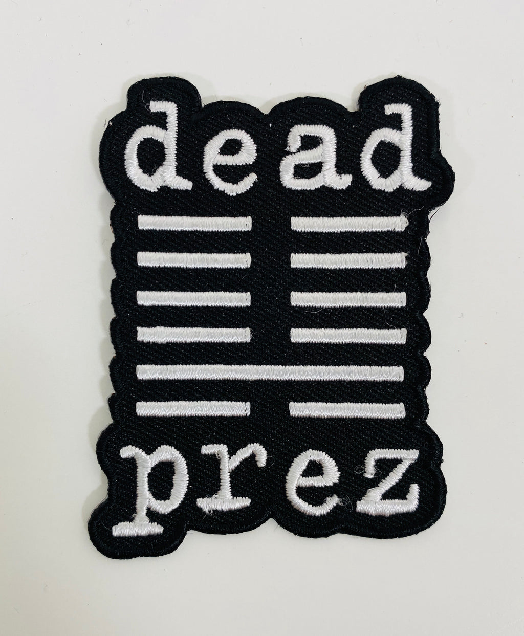 Dead Prez Embroidered Patch