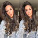Sexy Wave Wig  |  Natural Lace Wig  |  360 Human Wig  |  Charming Brown Wig