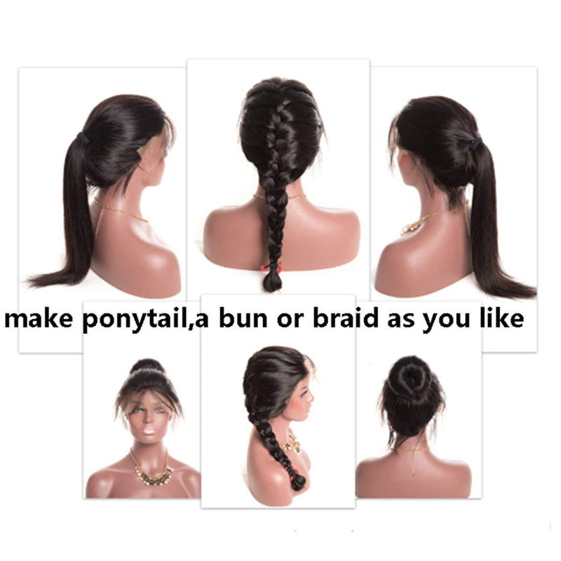 JUSTWIG® | Natural Hairline with Baby Hair, Can do Ponytail and Buns