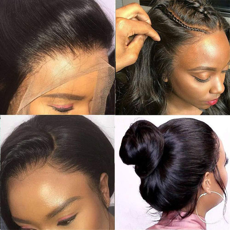JUSTWIG®| Brazilian Pre Plucked Glueless Human Hair Lace Front Wigs