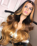 Sexy Wave Wig  |  Natural Lace Wig  |  360 Human Wig  |  Golden Wig
