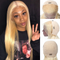 JUSTWIG®| Beauty Straight Wig  |  Natural Lace Wig  |  360 Human Wig  |  Blonde/Brown Wig