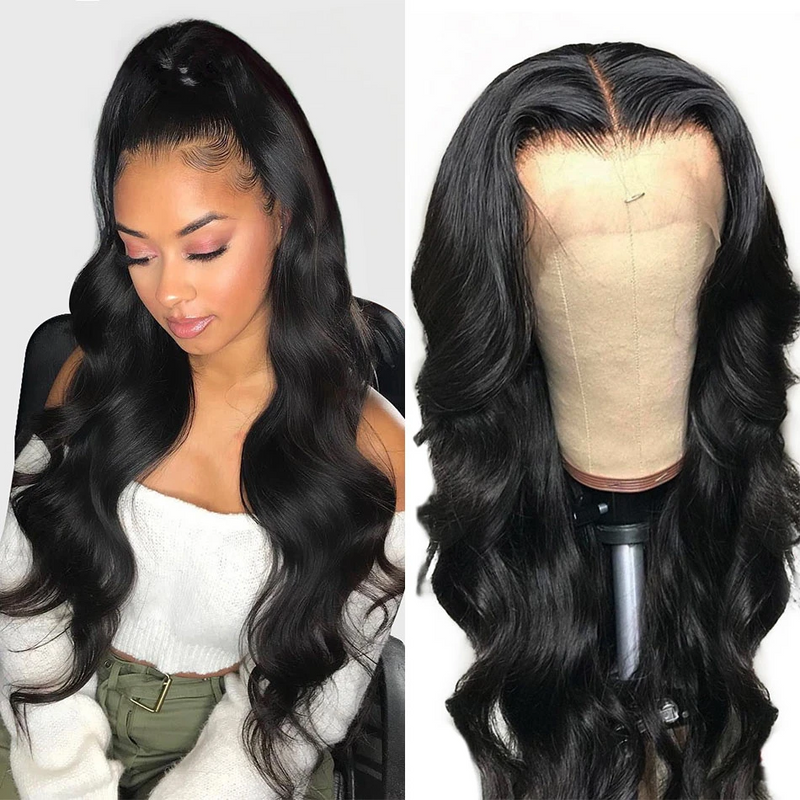JUSTWIG®| Brazilian Sexy Wave Wig  |  Natural Lace Wig  |  360 Human Wig  | Black/Blonde Wig