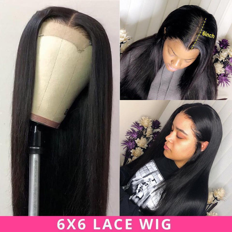 JUSTWIG®| Brazilian Hair Straight Lace Front Wigs