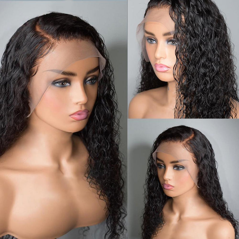 JUSTWIG®| Brazilian Front Short Curly 360 Lace Wig Lady wig