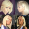 JUSTWIG® | Beauty Straight  Short Wig  |  Natural Lace Wig  |  360 Human Wig  | Blonde /Black  Wig