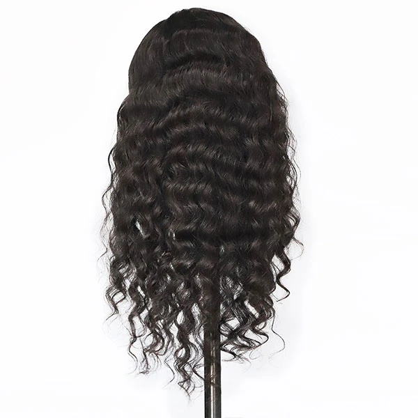 JUSTWIG® | Sexy Wave Wig  |  Natural Lace Wig  |  360 Human Wig  |  Black / Brown human Wig