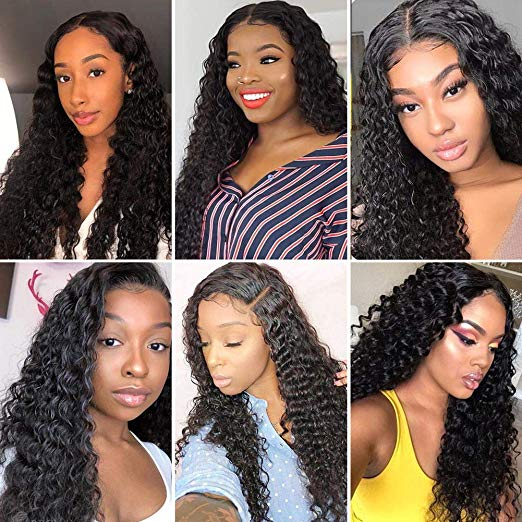 JUSTWIG® | Brazilian Water Wave 360 Lace Frontal Wigs | Human Hair | BEST SELLING