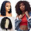 JUSTWIG®| Malaysian Kinky Curly Bob Lace Front Wigs For Women