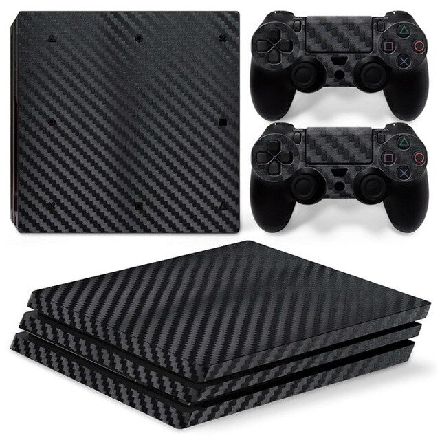 PS4 Pro Console Skin - CARBON