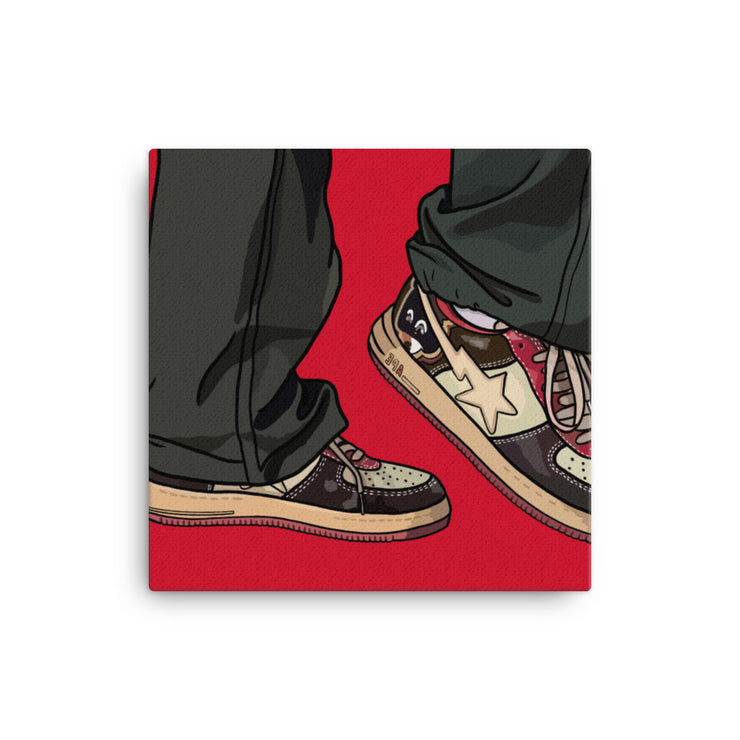 Graduation Sneaker - Canvas