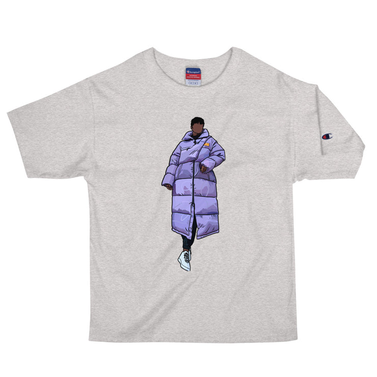 Bubble Coat - Unisex Champion Tee