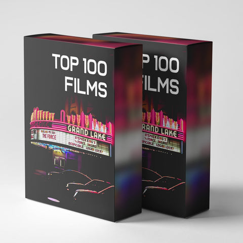 100 LUTS! - Top 100 Film's - The Lut Hut