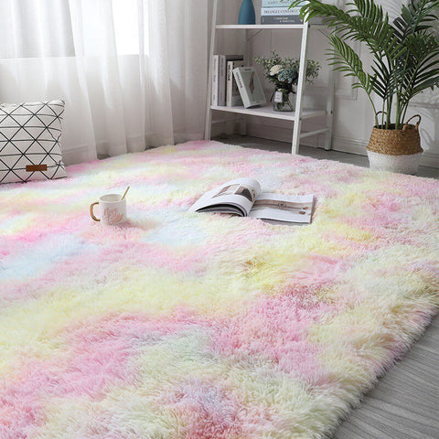Super Soft Faux Sheepskin Fur Area Rugs for Bedroom Floor Shaggy Plush Carpet Faux Fur Rug Bedside Rugs