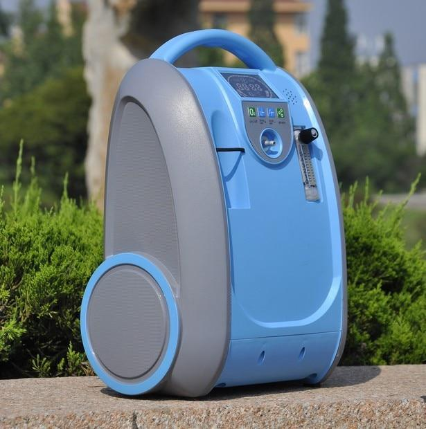 Deluxe Portable Oxygen Concentrator Tank Machine 5 LPM - Shopptique