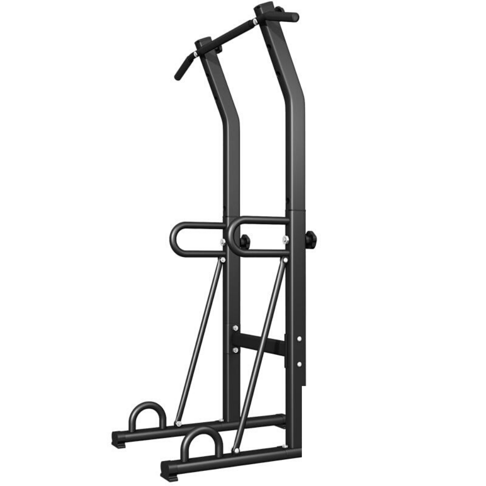 Deluxe Pull Up And Dip Bar Station Black - Shopptique