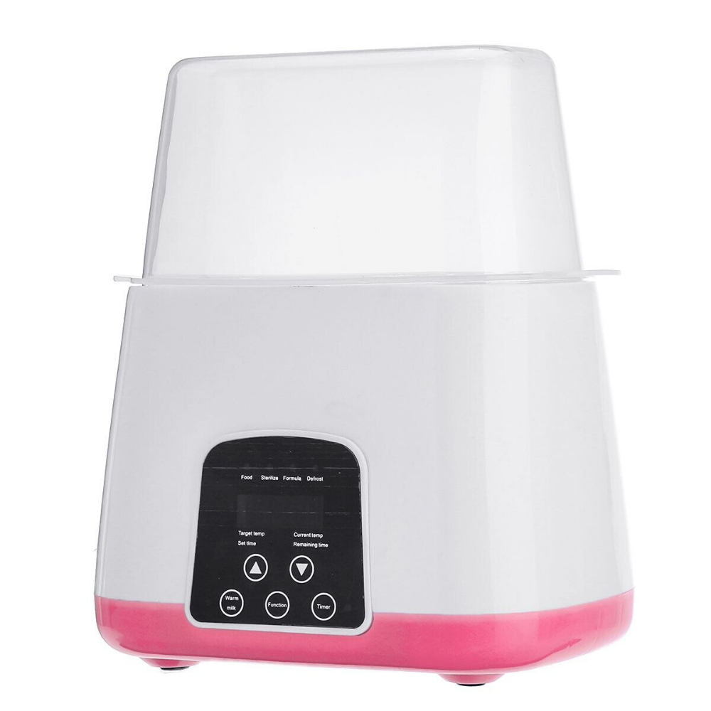 Premium Automatic Baby Bottle Sterilizer And Cleaner Pink - Shopptique