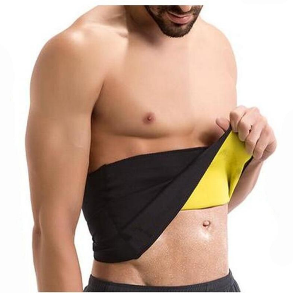 Waist Trainer Sweat Belt For Men Black / S - Shopptique