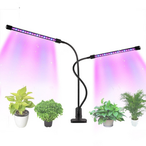 Plant LED Indoor Grow Lights 2 Heads - Shopptique