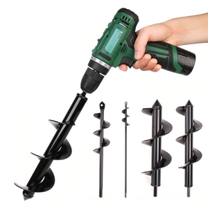 Post Hole Auger Drill Bit For Garden Planting 4.6CMx37CM - Shopptique