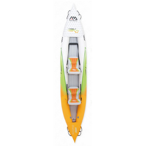 Heavy Duty Inflatable Blow Up Kayak Double Person - Shopptique