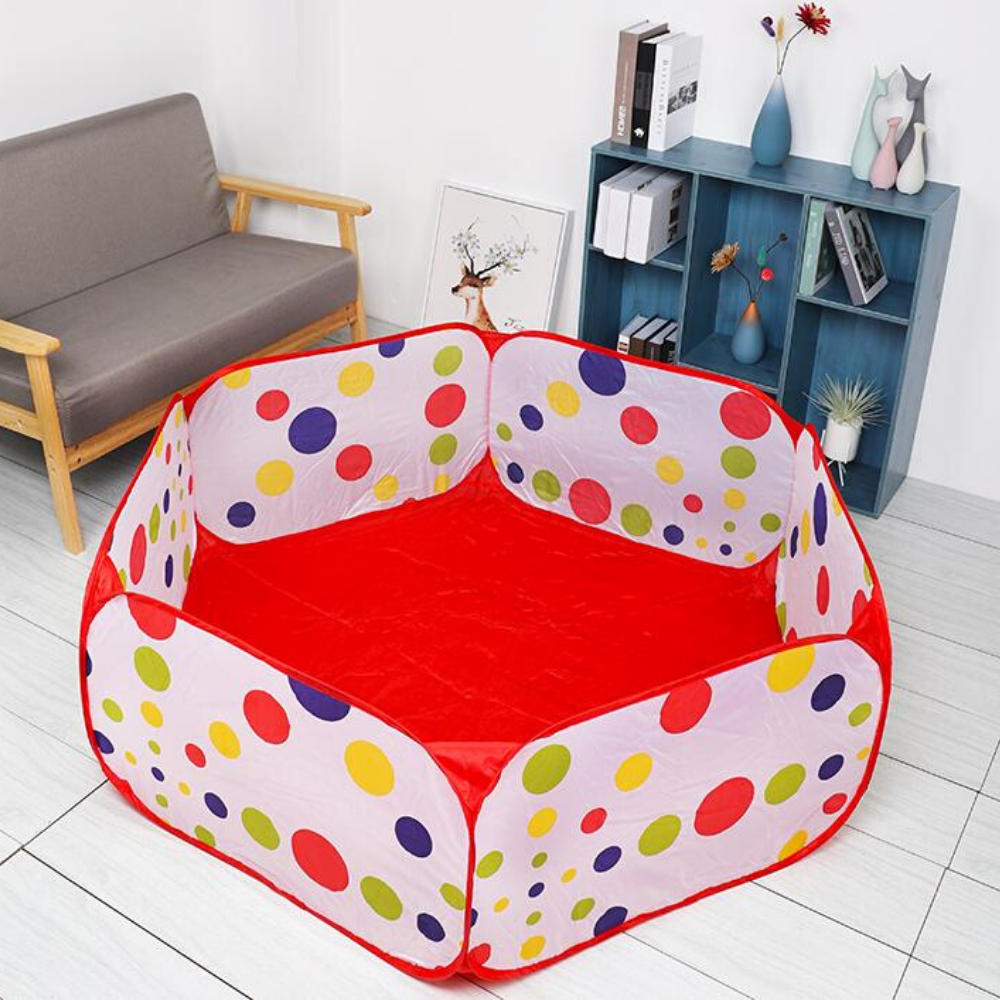 Premium Indoor Ball Pit For Kids 1.0m no basket - Shopptique