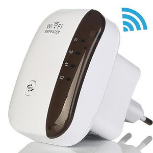 Wifi Repeater Signal Range Extender Wireless White - Shopptique